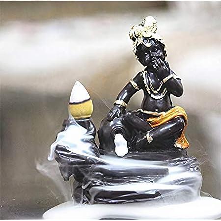 Lord Krishna Showpiece Smoke FountainLittle Krishna Smoke BackflowKanha Ji
