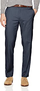 Van Heusen Men's Air Straight Fit Flat Front Dress Pant