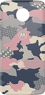Moto Snap, Motorola, Style Shell, PG38C02534, Pink Camo