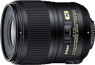 Nikon AF-S Micro 60mm f2.8G ED (1:1) Australian Warranty, Black (JAA632DB)