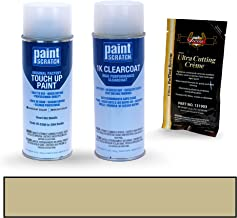 PAINTSCRATCH Desert Mist Metallic YR-538M for 2004 Honda Accord - Touch Up Paint Spray Can Kit - Original Factory OEM Automotive Paint - Color Match Guaranteed