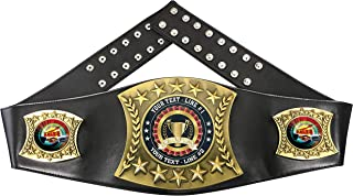Express Medals Custom Top Sales Trophy Personalized Championship Leather Belt MY480