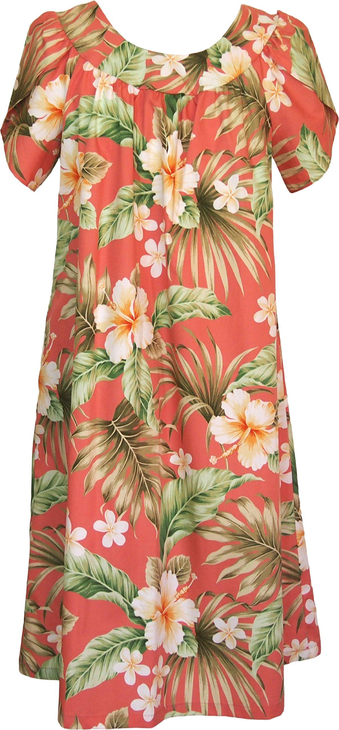 Available at Amazon: RJC Women's Full Bloom Muumuu Dress - Tea Length