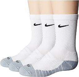 Nike Kids - 3-Pair Pack Dri-Fit Crew Socks (Toddler)