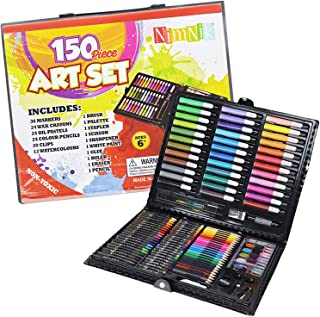 Art Sets for Girls Ages 7-12 - 150 Piece Creativity Art Drawing Set Gift Case for Children | Great Birthday Gifts Present for Girls of All Ages