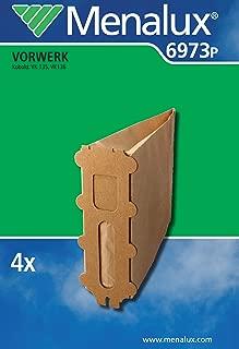 150-5 Capas eVendix 18 Bolsas de aspiradora//Bolsas de Polvo//Bolsas de Filtro de Micropolar adecuadas para Vorwerk Kobold VK 140