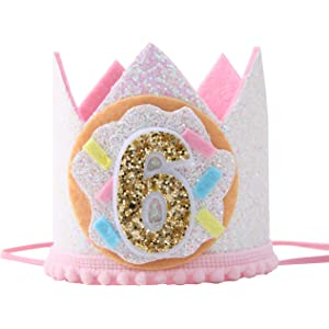 Donuts Birthday CrownDoughnuts Birthday CrownDonuts Birthday Theme Crown