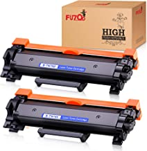 FUZOO with Chip Compatible Toner Cartridge Replacement for TN760 TN-760 TN730 Use with Brother HL-L2350DW HL-L2390DW HL-L2395DW MFC-L2710DW HL-L2370DW MFC-L2750DW DCP-L2550DW Printer (2 Pack, Black)