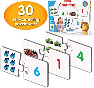 The Learning Journey: Match It - Counting - Self-Correcting Number & Learn to Count Puzzle