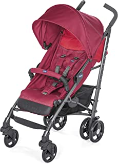 Carrinho Lite Way Basic 3 Red Berry, Chicco, RED BERRY