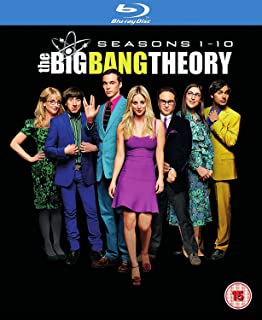 Big Bang Theory - Seasons 1-10 2017  Region Free