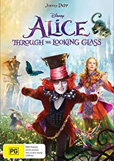 Alice Through The Looking Glass (DVD)