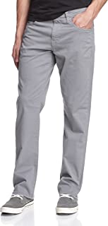 Men's Matt Classic Mid-Rise Relaxed Straight-Leg Pants