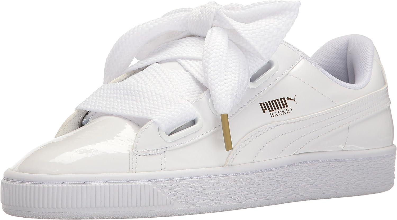 PUMA Women's Basket Heart Patent Wn's Fashion Sneaker