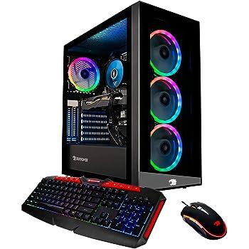 iBUYPOWER Gaming PC Computer Desktop Element 9260 (Intel Core i7-9700F 3.0Ghz, NVIDIA GeForce GTX 1660 Ti 6GB, 16GB DDR4, 240GB SSD, 1TB HDD, WiFi & Windows 10 Home) Black