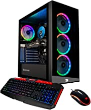 iBUYPOWER Pro Gaming PC Computer Desktop Element MR9270 (Intel Core i7-9700F 3.0GHz, NVIDIA GeForce RTX 2060 6GB, 16GB DDR...