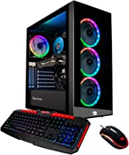 iBUYPOWER Gaming PC Computer Desktop Element 9260 (Intel Core i7-9700F 3.0Ghz, NVIDIA..