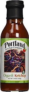Organic Natural Ketchup: Portland Ketchup Company 14 oz Gluten-Free Vegan No-GMOs (3-Pack)