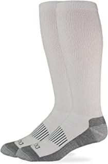 Dickies Men's Light Comfort Compression Over-The-Calf Socks, 2-Pairs