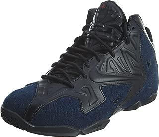 Nike Men's Lebron XI EXT Denim QS, BLACK/BLACK-DENIM, 9 M US