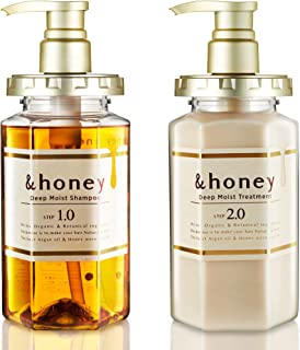 &honey Shampoo & Conditioner Set Organic Hair and Scalp Care for Intense Cleansing and Hydration - Moisture-Enhancing Wash...