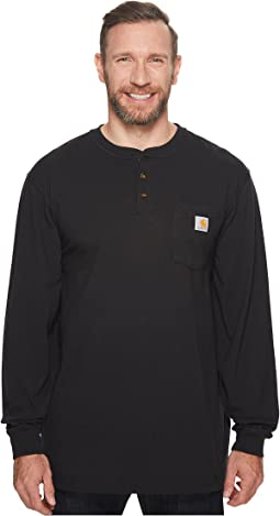Big & Tall Workwear Pocket L/S Henley