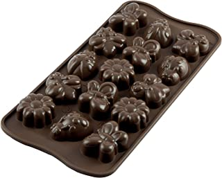 Silikomart Silicone Easy Chocolate Mold, Springlife