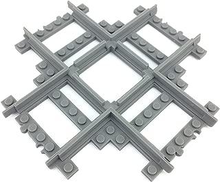 Trixbrix Crossing 90 deg. Compatible with Lego Train, 3D Printed!