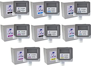 InkOwl Compatible Ink Cartridge Replacement for Canon PFI-306 (330ml, 8-Pack) for iPF8400, iPF8400S, iPF9400, iPF9400S Printers