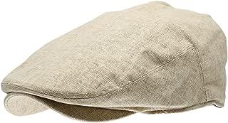 Men's Linen Flat Ivy Gatsby Summer Newsboy Hats