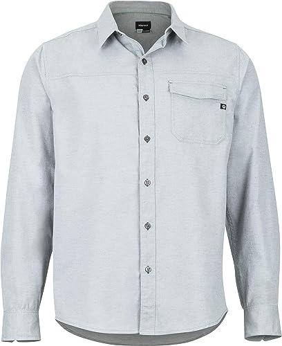 Marmot Tumalo - T-Shirt Manches Longues Homme - Vert 2019 t Shirt Manches Longues