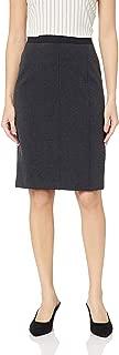 Amazon Brand - Lark & Ro Women's Knit Jaquard Pencil Skirt