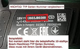 Bosch 1607233291 - Regulador de velocidad electrónico (GWS EWS 14-125 1400 GWS 14-125 CIE/EWS 14-125 S/GWS 1400)