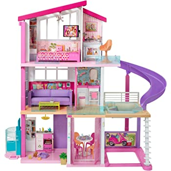 ​ Barbie Dreamhouse Dollhouse with Pool, Slide and Elevator