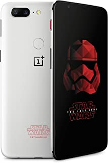 OnePlus 5T (Star Wars Limited Edition) A5010 128GB Dual-SIM (GSM Only, No CDMA) Factory Unlocked 4G/LTE Smartphone (Sandstone White) - International Version