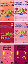Singapore Math Primary Mathematics Grade 3 Intensive SET (6 Books) --Textbooks 3A and 3B, Workbooks 3A and 3B, Intensive Practice 3A and 3B (US Edition)