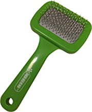 Pixikko Mini Slicker Brush with Protective Tips for Small Animals, Kittens, Puppies Daily Grooming
