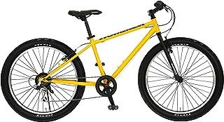 HUMMER(ハマー) マウンテンバイク 26インチ FAT BIKE TANK3.0 ATB 26×3.0インチ極太タイヤ シマノ製6段変速機搭載 前後Vブレーキシステム 13118