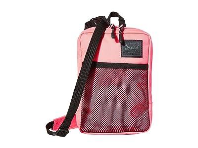 Herschel Supply Co. Sinclair Large (Neon Pink/Black) Cross Body Handbags