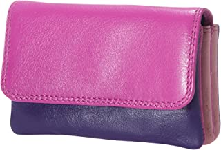 Visconti RB 99 Multi Colored Womens Small Leather Coin Purse Wallet
