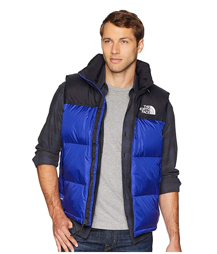 The North Face  1996 Retro Nuptse Vest (Aztec Blue) Mens Vest