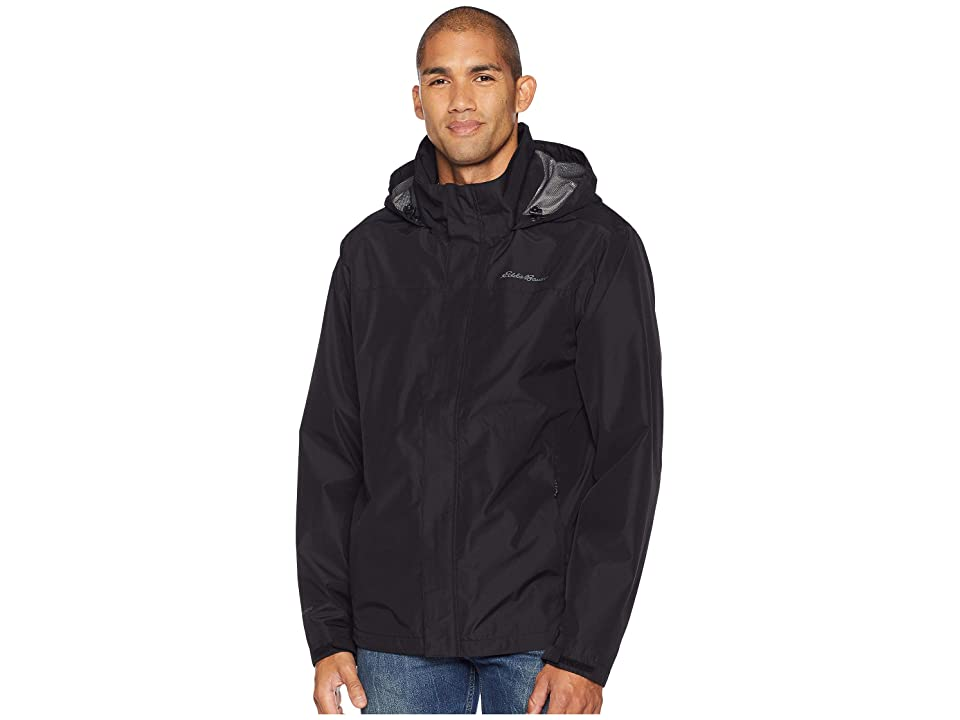 Eddie Bauer Packable Rainfoil Jacket (Black) Men