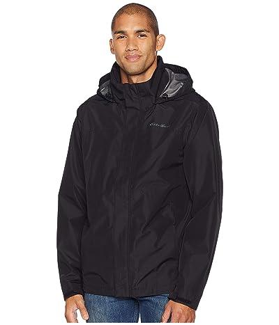 Eddie Bauer Packable Rainfoil Jacket (Black) Men