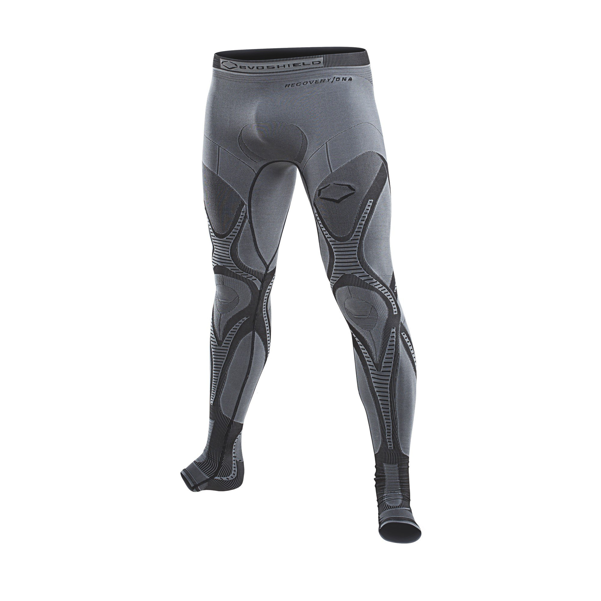 EvoShield Recovery Compression Tights Charcoal