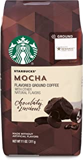 starbucks mocha ground coffee caffeine