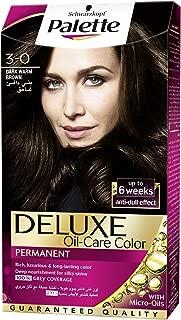 Schwarzkopf Palette Deluxe Oil Care Color 3-0 Dark Warm Brown