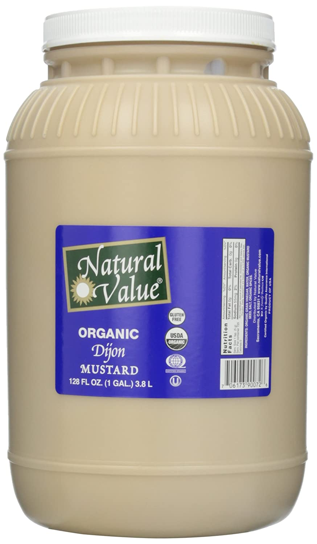 Natural Value Organic New Free Shipping Selling Dijon Ounce 128 Mustard