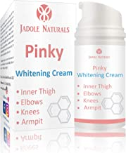 Jadole Naturals Pinky Whitening Cream For Knees Inner Thigh Elbows And Sensitive Area 50 g, Pack of 1