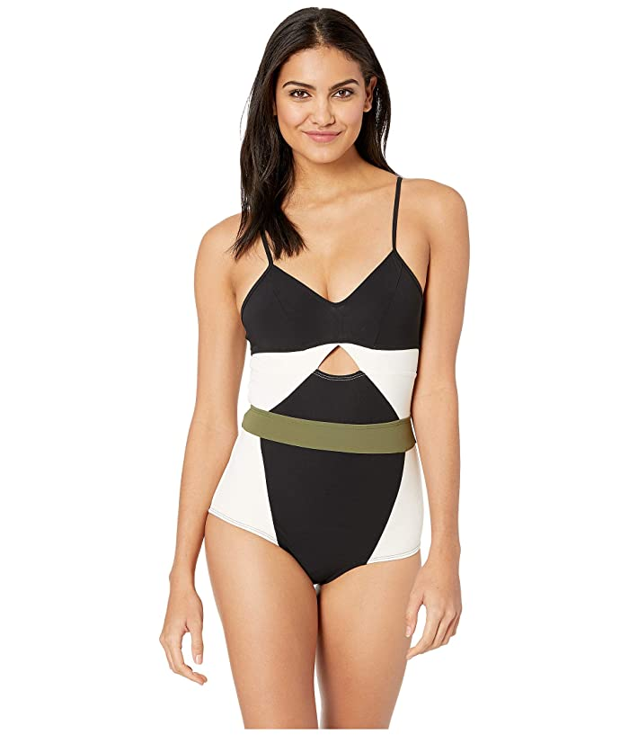 FLAGPOLE Joellen One-Piece (Black Multi) Women