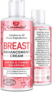 Breast Enhancement Cream for Women- Saggy Breast Lift Cream - Made in USA - Breast Enhancement Cream - Breast Firming and ...